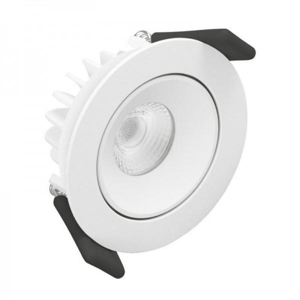 Osram/LEDVANCE LED Einbauleuchte Spot Adjust 6,5W 3000K warmweiß 550lm IP20 Weiß