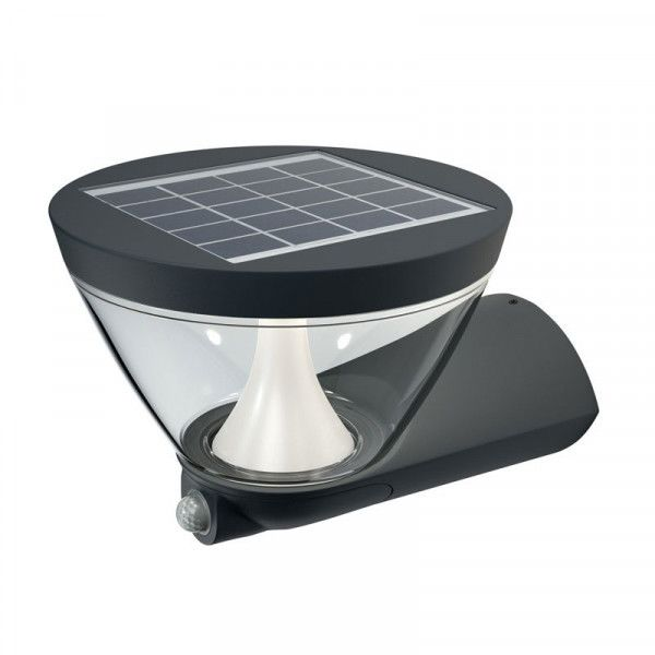 Osram/LEDVANCE LED Außenleuchte Endura Style Lantern Solar 5W 3000K warmweiß 340lm IP44