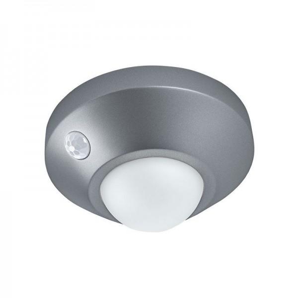 Osram/LEDVANCE Wand- und Deckenleuchte LED Nightlux Ceiling 1,7W 4000K kaltweiß 105lm IP20 Silber