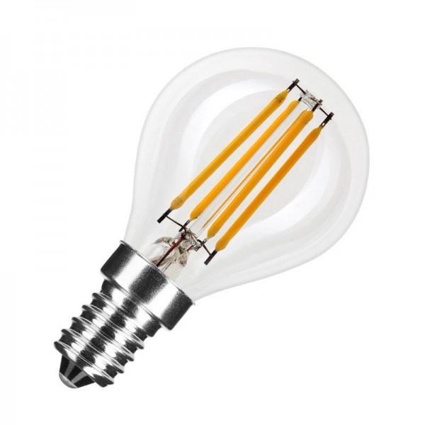 Modee LED Filament Globe Mini G45 4W 2700K warmweiß 400lm E14 klar nicht dimmbar