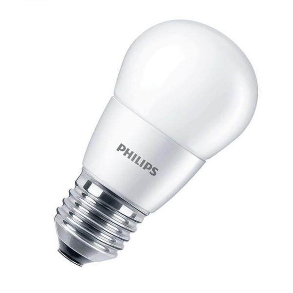 Philips CorePro LEDluster P48 7W 2700K warmweiß 806lm E27 matt nicht dimmbar