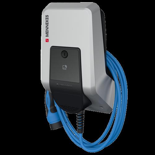 MENNEKES Wallbox AMTRON Charge Control 11 C2 - 11kW Ladestation mit 7,5m Typ 2 Ladekabel - 1349201