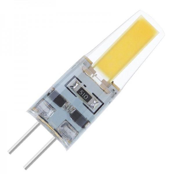 Modee LED Silicon COB DC 2W 6000K tageslichtweiß 180lm G4 klar nicht dimmbar