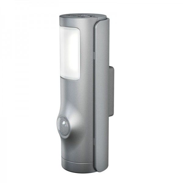 Osram/LEDVANCE LED Nightlux Torch 0,35W 4000K kaltweiß 10lm IP54 Silber