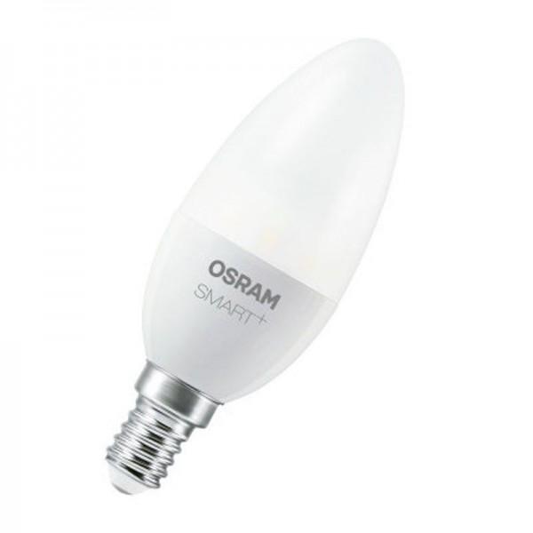 Osram/LEDVANCE LED SMART+ Classic B 6W 2700-6500K änderbar 470lm Matt E14 dimmbar