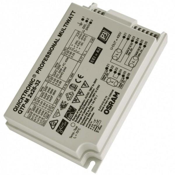 Osram/LEDVANCE QTP-M 2x26-32W 220-240V IP20