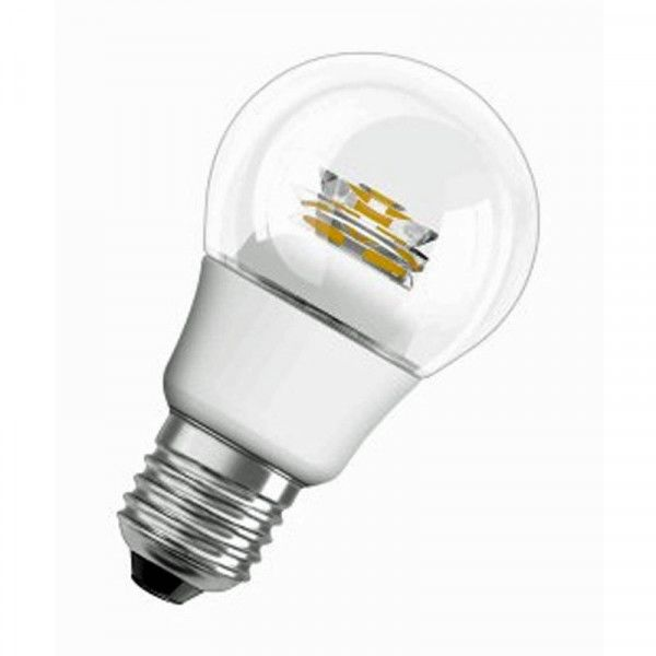 Osram/LEDVANCE LED Star Classic A 40 5W 2700K warmweiß 470lm klar E27 nicht dimmbar