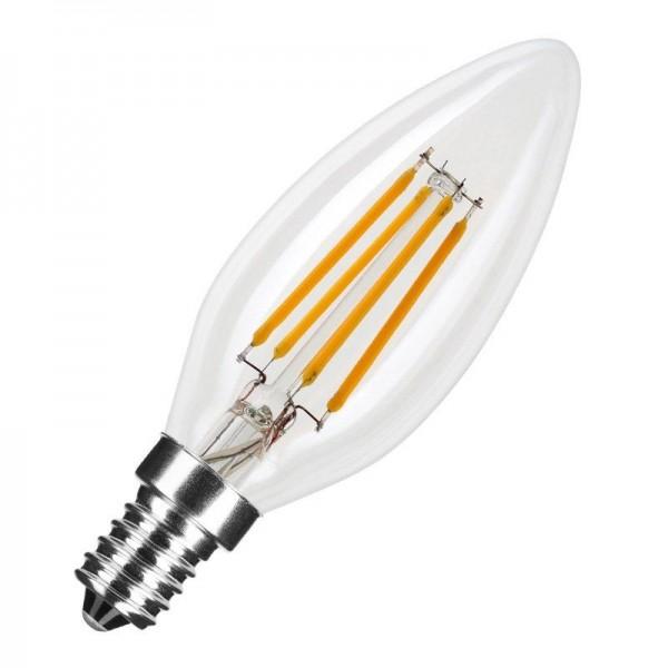 Modee LED Filament Candle C35 4W 2700K warmweiß 400lm E14 klar nicht dimmbar