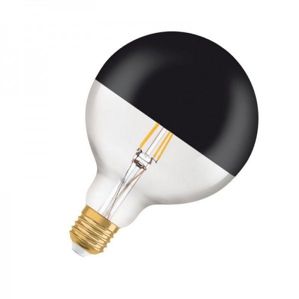 Osram/LEDVANCE LED Filament Black Top Globe 7W 2700K warmweiß 680lm BLACK TOP E27 nicht dimmbar