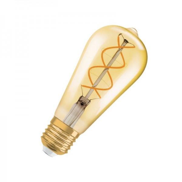 Osram/LEDVANCE LED Filament Edison Classic 5W 2000K warmweiß 250lm klar E27 nicht dimmbar