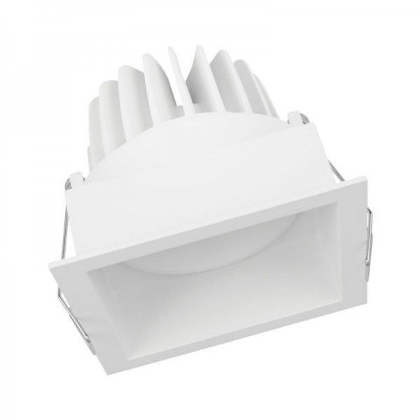 Osram/LEDVANCE LED Einbauleuchte Spot Square Adjust 8W 3000K warmweiß 650lm IP20 Weiß