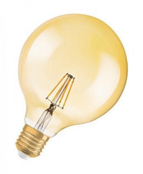Osram/LEDVANCE LED Filament Vintage Globe 7W 2400K warmweiß 650lm klar E27 dimmbar